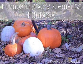 Pumpkin Story Elements Flipbook