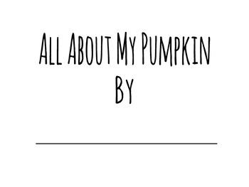 Pumpkin Study Book Printable