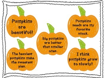 Pumpkin Style FACT and OPINION