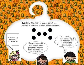 Pumpkin Subitizing