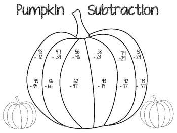 Pumpkin Subtraction