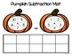 Pumpkin Subtraction Mat