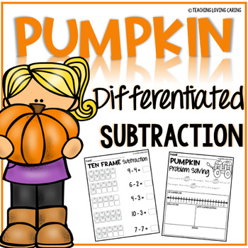 Pumpkin Subtraction Worksheets