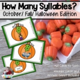 Counting Syllables | October