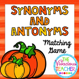 Pumpkin Synonyms and Antonyms for Upper Elementary/ Early Middle School