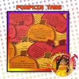 Pumpkin Tabs_ Freebie