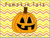 Pumpkin Talk {adding quotation marks}