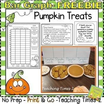 Pumpkin Treats Bar Graphing