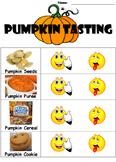 Pumpkin Tasting