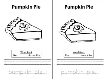 Pumpkin Tasting Booklet