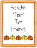 Pumpkin Teen Ten Frames