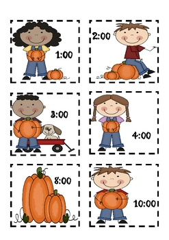 Pumpkin Telling Time