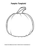 Pumpkin Template!
