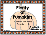 Pumpkin Ten Frame 1-10