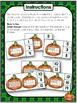 Pumpkin Ten Frame Activities (1-20) Math Centers