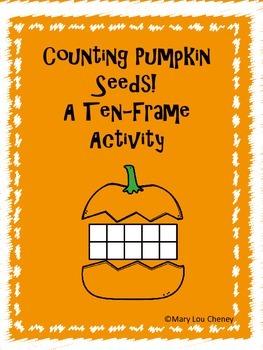 Pumpkin Ten Frame Activity