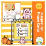 Pumpkin Ten Frame Cards