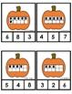 Pumpkin Math Center - Ten Frames