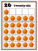 Pumpkin Ten Frames, 0-30 Number Posters, Classroom Decor