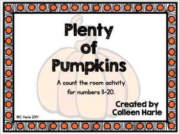 Pumpkin Ten Frames 11-20
