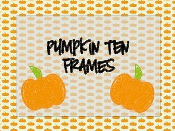 Pumpkin Ten Frames