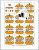 Pumpkin Math - Ten Frames Number Cards 0-20