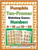 Pumpkin Math - Ten Frames Activities