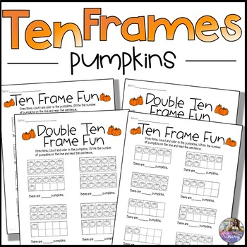 Pumpkin Ten Frames *No Prep FREEBIE*