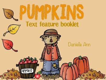 Pumpkin Text Feature Book