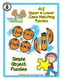 Pumpkin - Thanksgiving - Alphabet / Letter Puzzles - Simpl