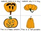 Pumpkin Theme Foldable Early & Emergent Readers ~Set of 7~