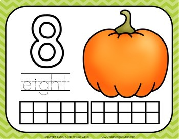 Pumpkins Unit: Science, Math, and Literacy Lessons, Activities and Centers