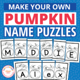 Pumpkin Theme Name Activities for Preschool & PreK | Edita