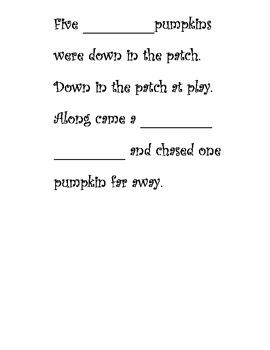 Pumpkin Theme Unit - Language Arts K-2