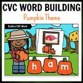 Pumpkin Themed CVC Word Building Pack