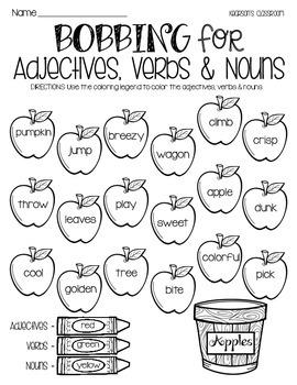 Pumpkin Themed Fall Literacy - Language Arts Activities