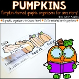 Pumpkin-Themed Graphic Organizers {For Any Pumpkin Story!}