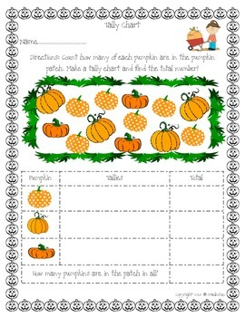 Pumpkin Themed Learning Bundle