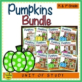 Pumpkin Themed Literacy & Math Bundle