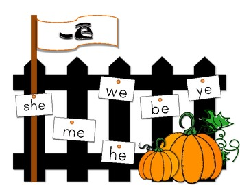 Pumpkin Themed Literacy and Word Work Station