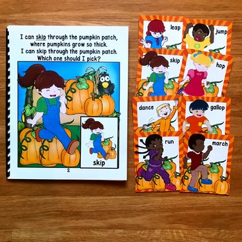 Pumpkin Themed Movement Cards (And Book!)
