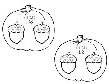 Pumpkin Themed Rounding