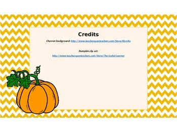 Pumpkin Themed Standard Notation task cards with recording sheet
