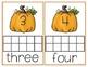 Pumpkin Themed Ten Frames