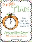Time Around the Room: Hour, Half-Hour, Quarter after, Quarter 'til