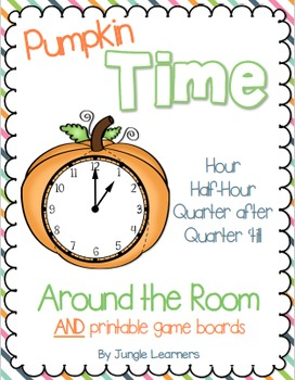 Time Around the Room: Hour, Half-Hour, Quarter after, Quar