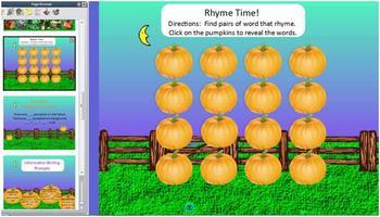 Pumpkin-Time Flipchart Mini-Unit