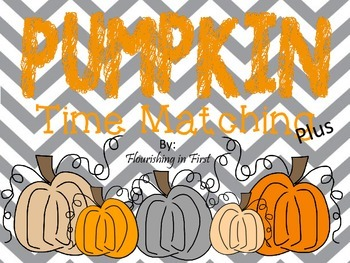 Pumpkin Time Matching Plus!