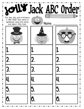 Pumpkin Time Math & Literacy Centers
