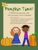 Pumpkin Time! STEAM Activities with NGSS